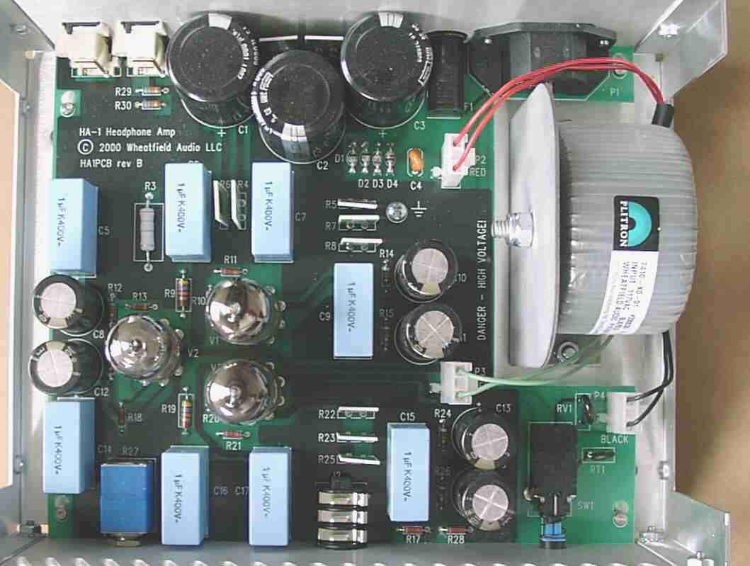 Wheatfield Audio Ha 1 Headphone Amplifier Circuit Design The Plitron Number Is 7410 X0 01 They Cost Me About 45 Each In Lots Of 25 Pieces Expensive But With This Amp Was Very Quiet