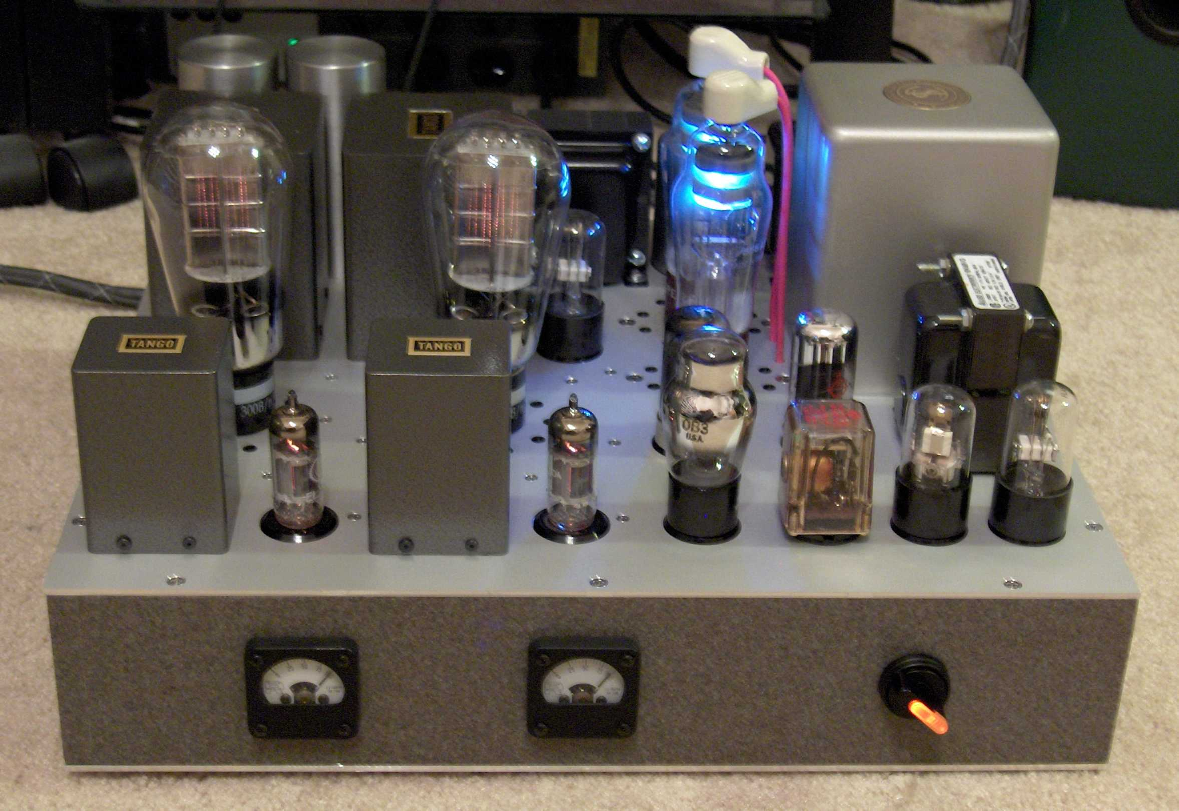 Unnecessarily Complex 300b Amp