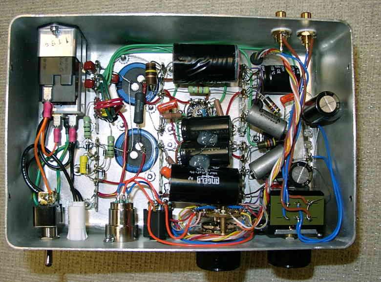 Ecc99 Srpp Headphone Amp