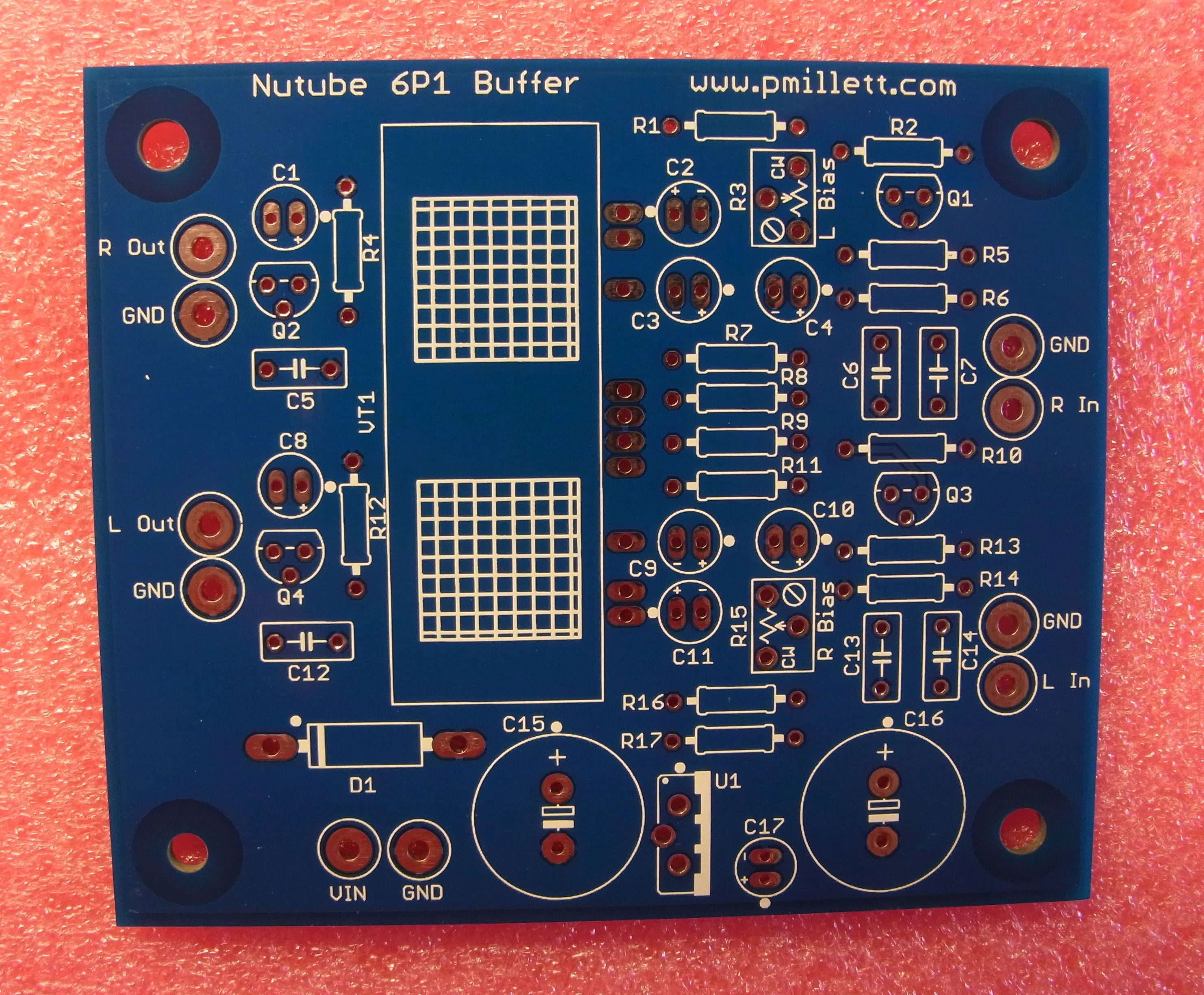 Nutube 6p1 Buffer Pcb How To Make A Simple Circuit Board The Idea Here Is Implement Single Stage Amplifier Using So People Can Evaluate It In An Audio System