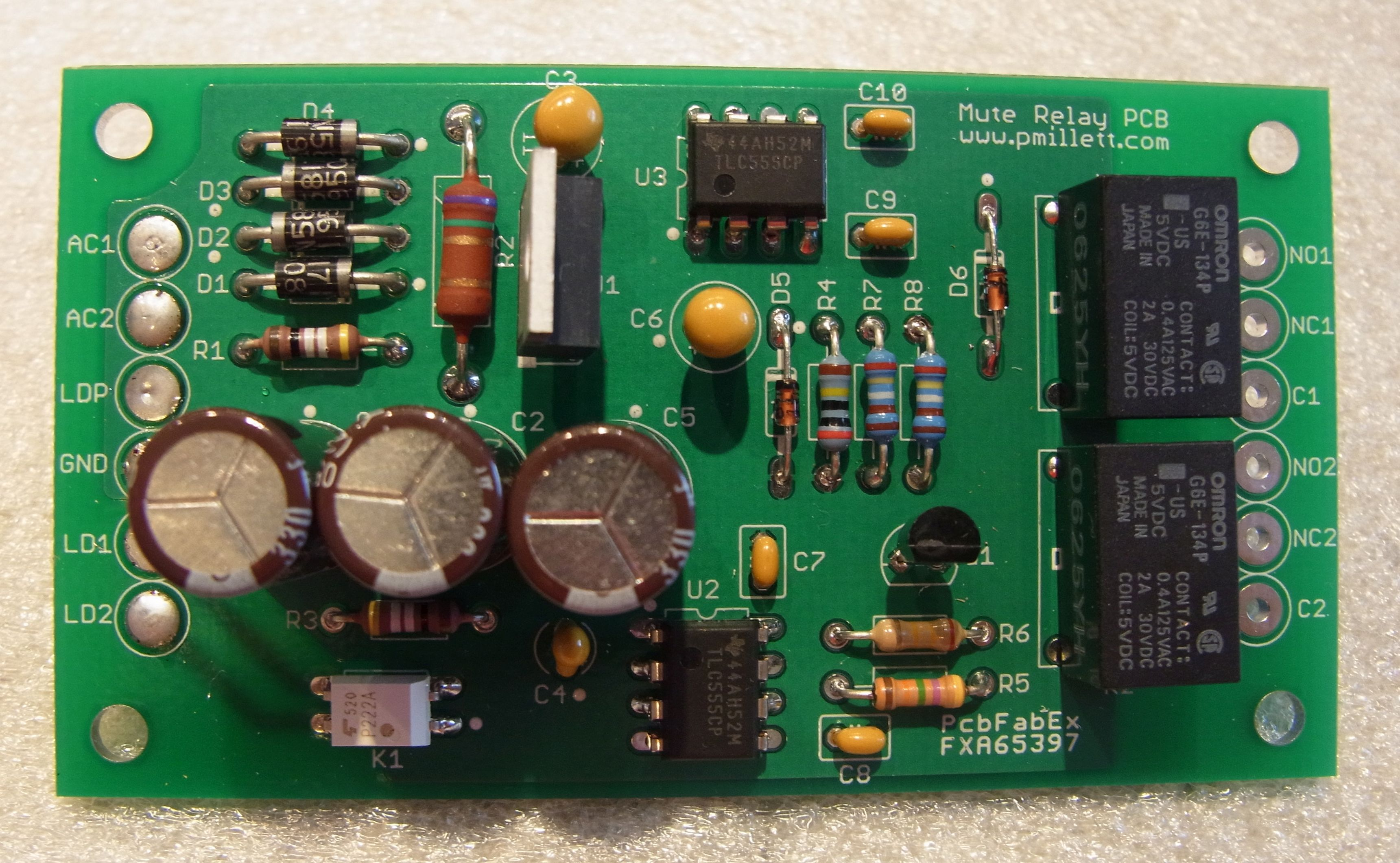 Muring Relay Pcb Delay On Circuit