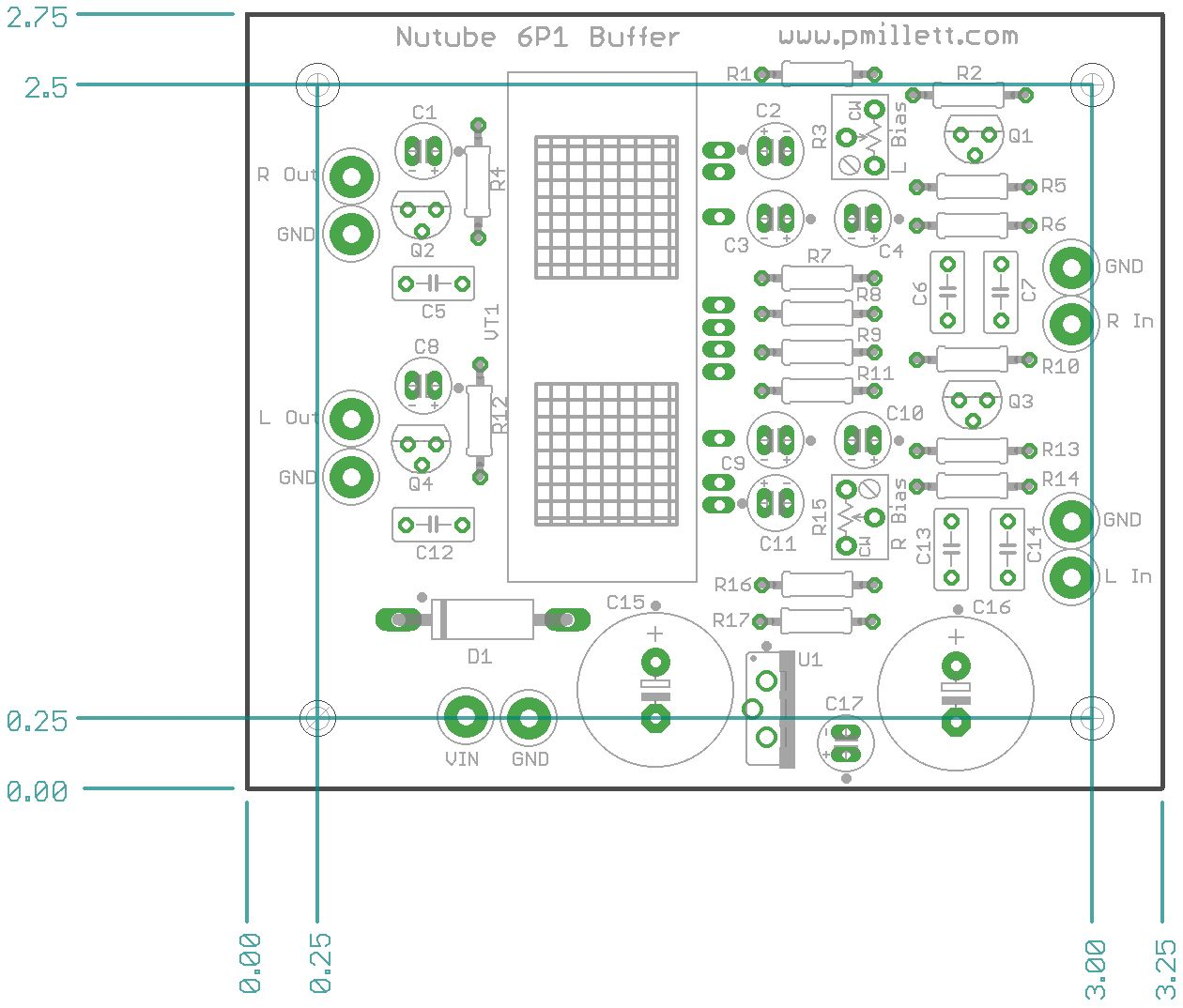 Nutube 6p1 Buffer Pcb Simple Audio Preamplifier Circuit Using Single Transistor 2n3904 The Idea Here Is To Implement A Stage Amplifier So People Can Evaluate It In An System