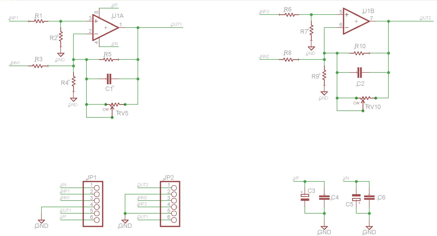 Opamp Experimenter Pcb Non Inverting Amplifier Circuit Diagram You Can See It Has Locations For Resistors To Make All The Standard Circuits And Differential Also A Spot Capacitor