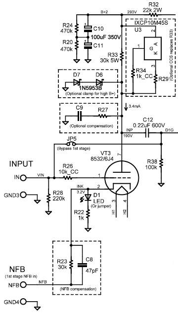 Ppdrv In Sch on Push Pull Kt88 Tube Amplifier Schematic